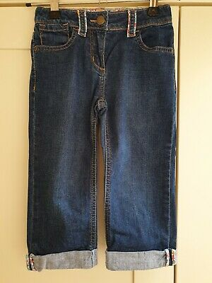 MINI BODEN Girls Cropped Jeans Age 6