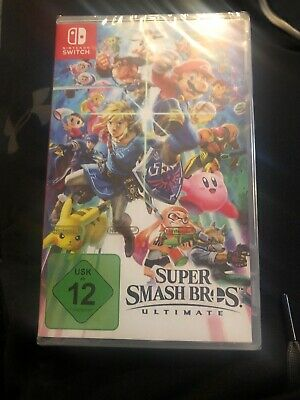 Brand New Super Smash Bros Ultimate | Nintendo Switch (Boxed) FAST DISPATCH