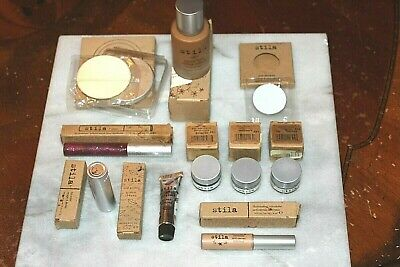 Lot of 10 Stila foundation concealer eyeshadow lip gloss lip color FREE SHIPPING