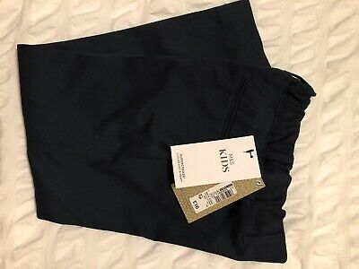 Boys M&S Smart Navy Trousers - BNWT - Age 5-6
