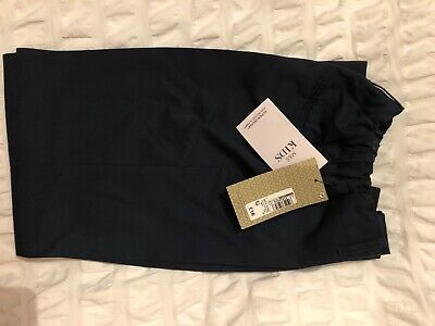 Boys M&S Smart Navy Trousers - BNWT - Age 9-10
