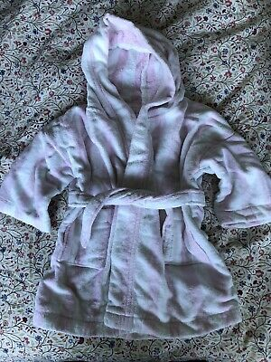 The Little White Company Dressing Gown Girls Age 9-24 Months