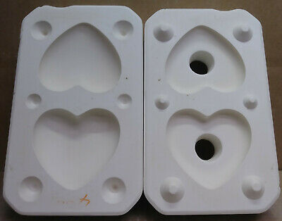 Ceramic Mold Heart Pomander/Box  Jay Kay JK 362 used