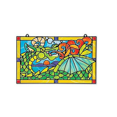 Melissa & Doug Stained Glass Made Easy Dragon MND9289