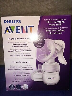 Philips Avent Manual Breast Pump with Bottle and Nipple