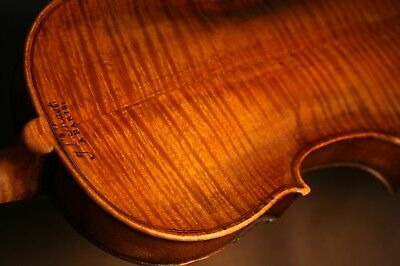 Fine Old Antique French 18Th Century Violin Made By Jean-Laurent Mast Circa 1790