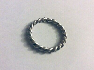 pandora ale sterling silver Rope ring Size 9.5