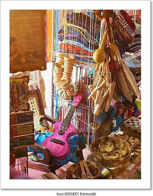 Colourful Crafts In Shop Art/Canvas Print. Poster, Wall Art, Home Decor - C