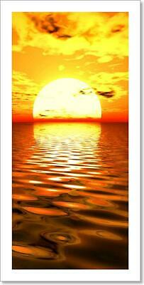Surreal Sunrise Art/Canvas Print. Poster, Wall Art, Home Decor - C