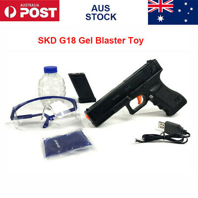 New SKD G18 Gel Ball Blaster Toy Gun Water Bullets Mag-fed  Adult Size AU Stock