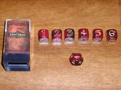 NEU//OVP The One Ring Dice Set Der Herr der Ringe//Middle-Earth Tabletop