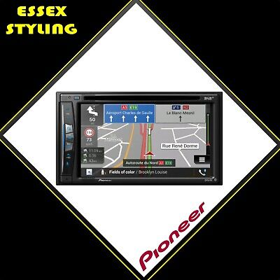 """Pioneer Double Din Camper Nav 6.2"""" touch screen NEW"""