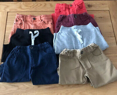 Boys Winter Trousers & Joggers Age 3-4 Including Next And M&S (W35)
