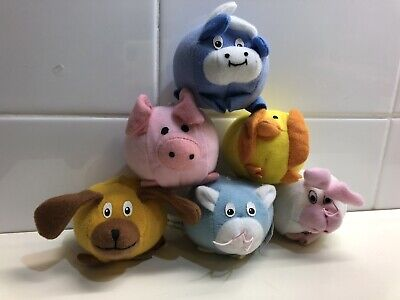 McDonalds Happy Meal Toys - Farmyard Friends 1998 complete set