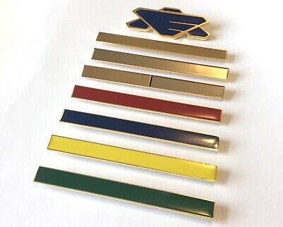 Babylon 5 Earth Alliance Pin and Stat Bar Set
