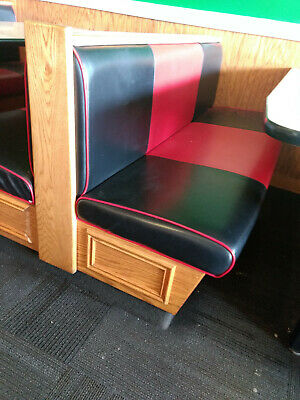 Vintage Restaurant Booths - Great Condition - Have A Coke And A Smile!