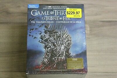 Game of Thrones: The Complete Series (Blu-Ray+Digital Box Set, 2019, Bilingual)
