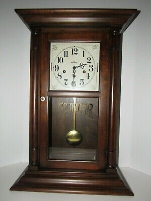 Howard Miller Crane 1/4 Hour Triple Chime/Melody Regulator Clock 8 Day, Key-Wind