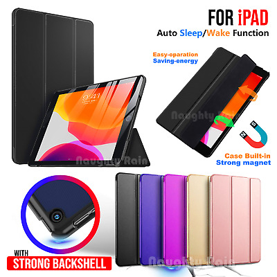 Case For Apple iPad 9.7 10.2 inch 7th 6th 5th Gen 2019 Leather Stand Folio Cover