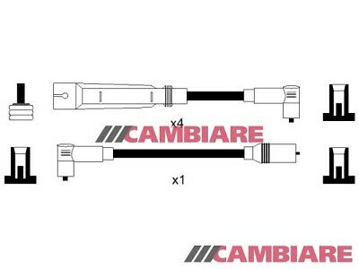 VW GOLF Mk2 1.3 HT Leads Ignition Cables Set 86 to 92 VOLKSWAGEN Cambiare New