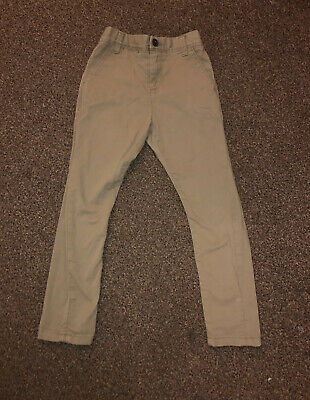 Boys NEXT Size 5-6 Years Beige Camel Chinos Trousers Jeans Bottoms. Smart Formal