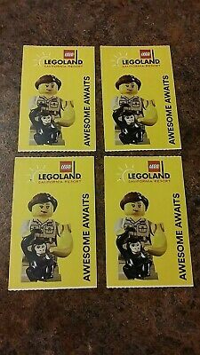 1 LEGOLAND California HOPPER TICKET! HARD Ticket Adult Or Child Expire 9/2020