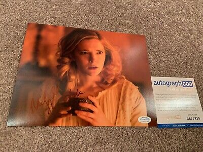 MORFYDD CLARK SIGNED 8x10 PHOTO EXACT PROOF ACOA AUTOGRAPHED 2