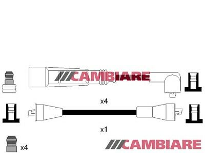 VW GOLF Mk1, Mk2 1.3 HT Leads Ignition Cables Set 79 to 87 VOLKSWAGEN Cambiare