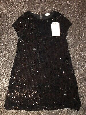 Girls Dress Party Christmas Sequinned Age 8 Years Zara