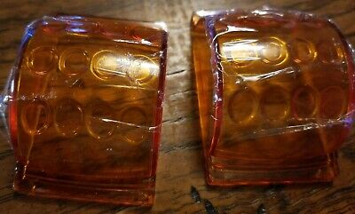 Grote Style Amber Lens Clearance Light Marker Armored 9092 Hummer H1 Truck Trail