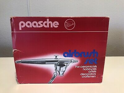 Paasche Airbrush Co. Type VL Double Action Airbrush Set