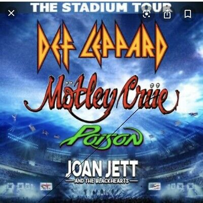 Motley Crue Tickets,Bush Stadium