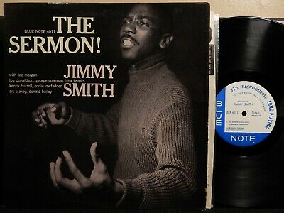 JIMMY SMITH The Sermon LP BLUE NOTE BLP 4011 MONO RVG EAR 1963 Jazz LEE MORGAN