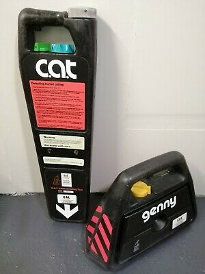 Cat 1 And Genny 1 Cable Avoidance Tool Radiodetection C.a.t