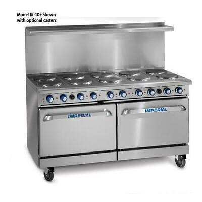 Imperial - IR-10-E - 60 in 10-Element Electric Range w/ Standard Ovens