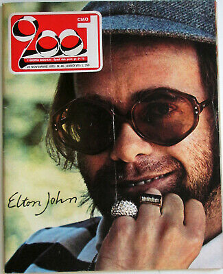 CIAO 2001 46 1975 Elton John Bruce Springsteen Tangerine Dream Ohio Players NCCP