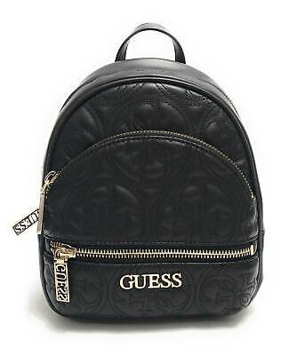 Borsa Guess zaino Manhattan backpack ecopelle trapuntato nero donna BS20GU1 Dimensioni borsa Grande