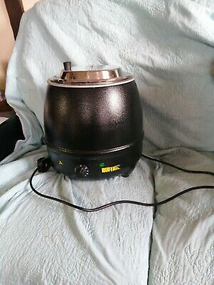 Soup kettle Buffalo L71610 L  Black  new