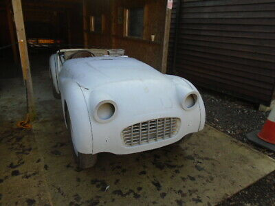 1957 Triumph TR3 with Overdrive and disc brakes Original RHD car For restoration