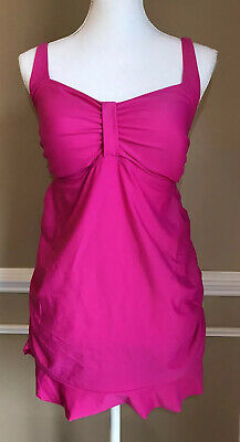 Oh Baby Motherhood Maternity Bathing Suit Swimsuit Large 2 Piece Pink
