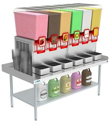 """Stainless Steel Commercial Equipment Stand - 30"""" X 60"""" 16 Guage Griddle Stand"""