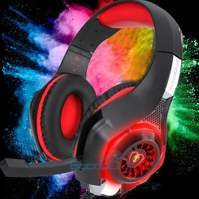 Best Gaming Headset Gamers Headphones for XBOX One PS4 With Microphone