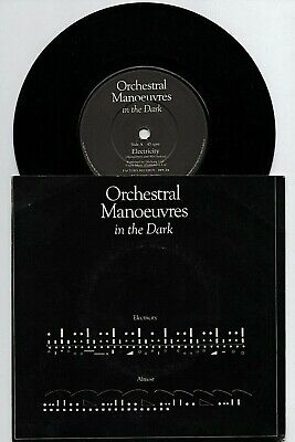 """OMD - ELECTRICITY 7"""" EX VINYL Rare UK Single Orchestral Manoeuvres In The Dark"""