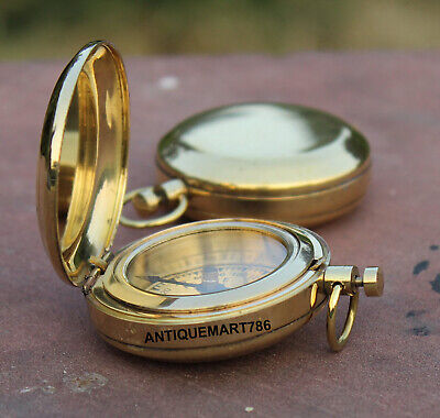 Brass Nautical Collectible Compass Marine Maritime Vintage Reproduction,