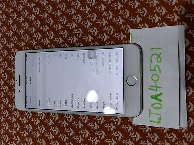Apple iPhone 8 Plus (Sprint) [A1864] - Silver, 64 GB Used Working Fine Locked