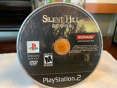 Silent Hill Origins (Sony PlayStation 2, 2008) PS2 - Disc Only -Tested VERY GOOD
