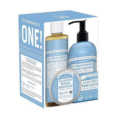 Dr. Bronner's Organic All-One Baby Essentials Pack