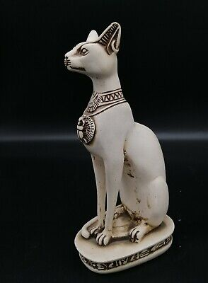 Egyptian goddess Bastet statue stone made in egypt