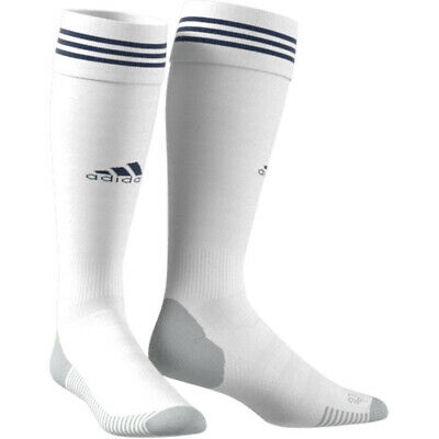 Adidas Adisock 18 3 Stripes Knee Socks Football White/Dark Blue [CW3295]