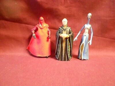 "Star Wars/Clone Wars Figure lot:  Chancellor Palpatine-""More Clones"""